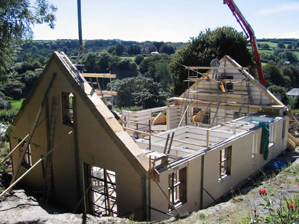 Detached icf house for Icf housing