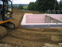 ... and provide homes capable of coping with changes in lifestyle. & New build basement and cellar construction.